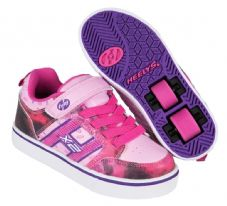 Heelys X2 Bolt Pink-Purple-Space